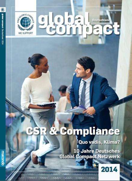 """Jahrbuch """"Global Compact Deutschland"""""""