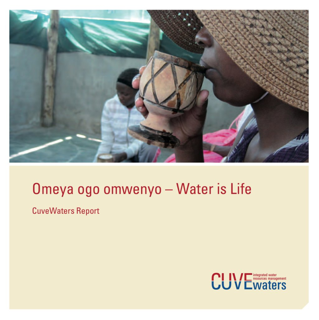 Cuve Waters Abschlussbericht Cover