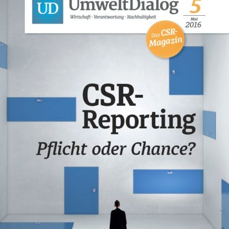 UD Magazin no 5 – CSR-Reporting: Pflicht oder Chance?