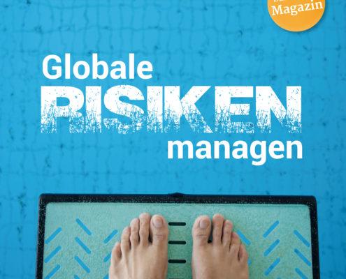 UmweltDialog-Magazin: Globale Risiken managen
